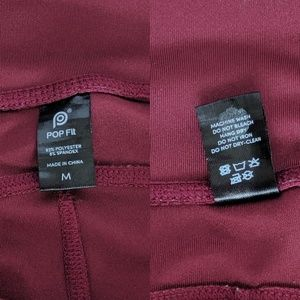 Pop Fit Pants - EUC M pop fit lily leggings with pockets